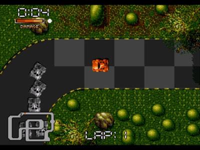 Pantallazo del juego online Double Clutch (Genesis)