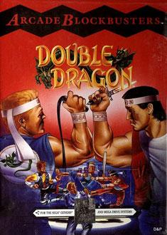 Carátula del juego Double Dragon (Genesis)