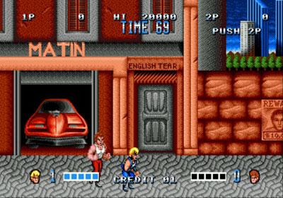 Pantallazo del juego online Double Dragon (Genesis)