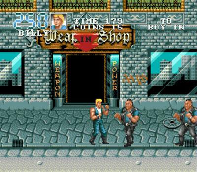 Pantallazo del juego online Double Dragon 3 - The Arcade Game (Genesis)