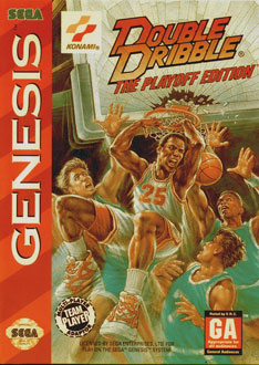 Carátula del juego Double Dribble - The Playoff Edition (Genesis)