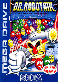 Carátula del juego Dr Robotnik's Mean Bean Machine (Genesis)