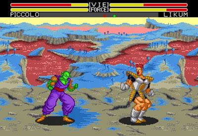 Pantallazo del juego online Dragon Ball Z Bu Yu Retsuden (Genesis)