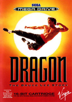 Carátula del juego Dragon - The Bruce Lee Story (Genesis)