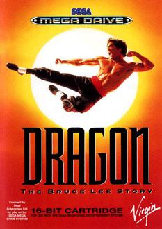 Carátula del juego Dragon - The Bruce Lee Story (Genesis)