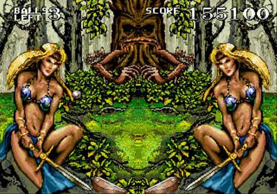 Pantallazo del juego online Dragon's Revenge (Genesis)