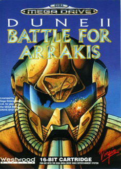 Carátula del juego Dune - The Battle for Arrakis (Genesis)