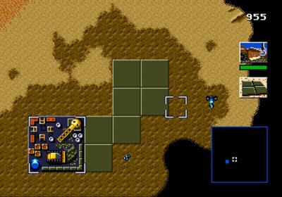Pantallazo del juego online Dune - The Battle for Arrakis (Genesis)