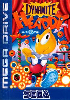 Carátula del juego Dynamite Headdy (Genesis)