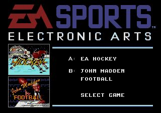 Pantallazo del juego online EA Sports Double Header (Genesis)