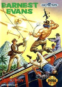 Carátula del juego Earnest Evans (Genesis)