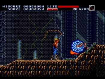 Pantallazo del juego online Earnest Evans (Genesis)