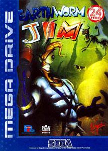 Carátula del juego Earthworm Jim (Genesis)