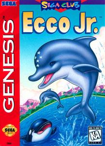 Carátula del juego Ecco Jr (Genesis)
