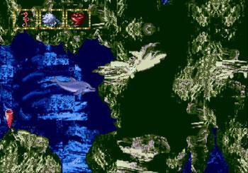 Pantallazo del juego online Ecco Jr (Genesis)