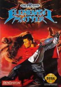 Carátula del juego Elemental Master (Genesis)
