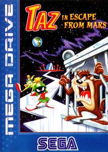 Carátula del juego Taz in Escape from Mars (Genesis)