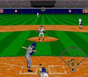 Pantallazo del juego online ESPN Baseball Tonight (Genesis)