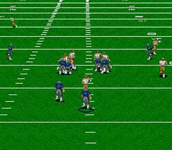 Pantallazo del juego online ESPN Sunday Night NFL (Genesis)