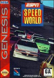Carátula del juego ESPN Speed World (Genesis)