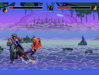 Pantallazo del juego online Eternal Champions (Genesis)