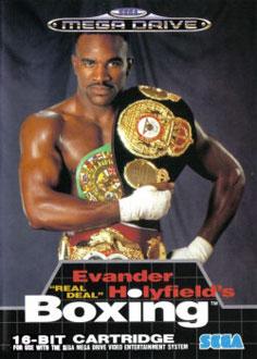 Carátula del juego Evander Holyfield's Real Deal Boxing (Genesis)