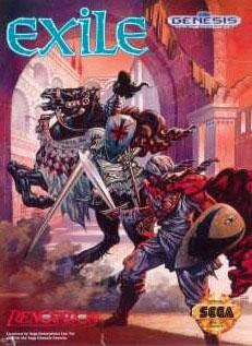 Carátula del juego Exile (Genesis)