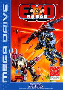 Carátula del juego Exo Squad (Genesis)
