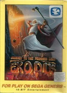Carátula del juego Exodus - Journey to the Promised Land (Genesis)