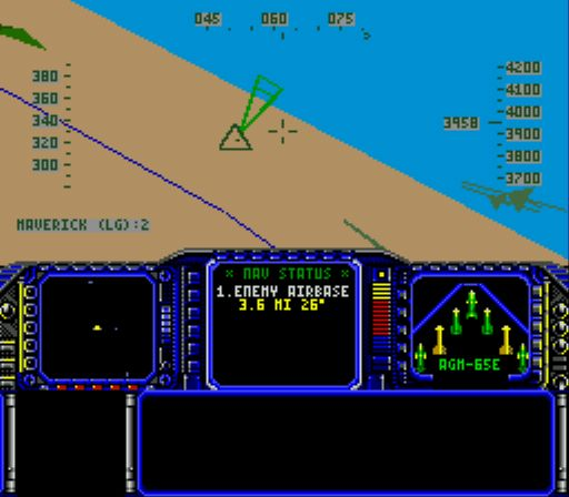 Pantallazo del juego online F-117 Night Storm (Genesis)