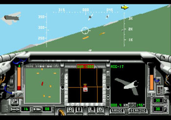 Pantallazo del juego online F-15 Strike Eagle II (Genesis)