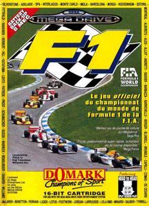 Carátula del juego F1 World Championship Edition (Genesis)