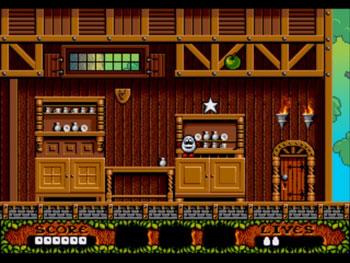 Pantallazo del juego online Fantastic Dizzy (Genesis)