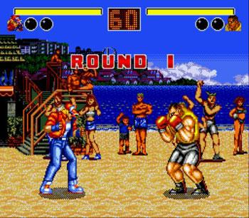 Pantallazo del juego online Fatal Fury (Genesis)