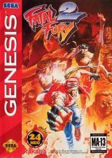 Carátula del juego Fatal Fury 2 (Genesis)