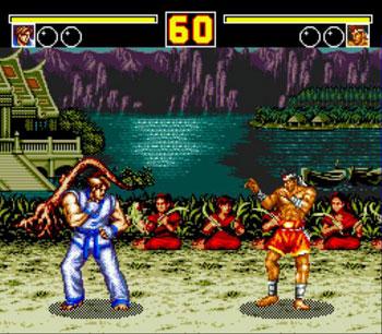 Pantallazo del juego online Fatal Fury 2 (Genesis)