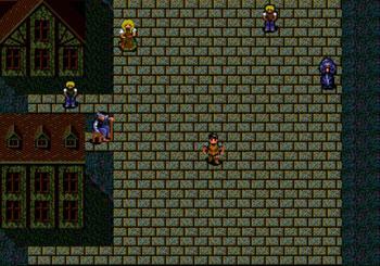 Pantallazo del juego online Fatal Labyrinth (Genesis)