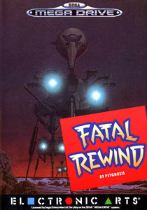 Carátula del juego Fatal Rewind (Genesis)