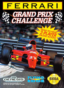 Carátula del juego Ferrari Grand Prix Challenge (Genesis)