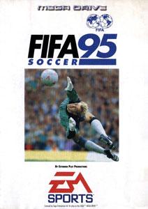 Carátula del juego FIFA Soccer 95 (Genesis)