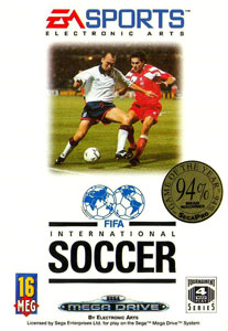 Portada de la descarga de FIFA International Soccer