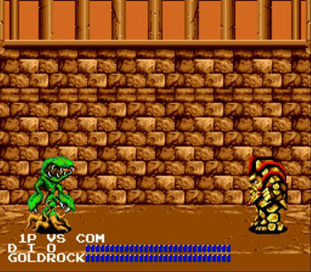 Pantallazo del juego online Fighting Masters (Genesis)