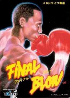 Carátula del juego Final Blow (Genesis)