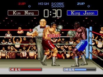 Pantallazo del juego online Final Blow (Genesis)