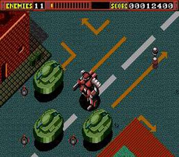 Pantallazo del juego online Final Zone (Genesis)