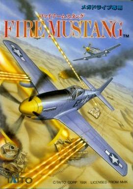 Carátula del juego Fire Mustang (Genesis)