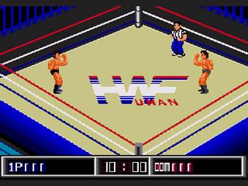 Pantallazo del juego online Thunder Pro Wrestling Retsuden (Genesis)