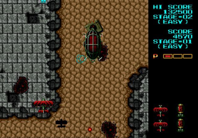 Pantallazo del juego online Fire Shark (Genesis)