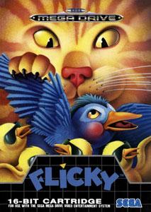 Carátula del juego Flicky (Genesis)