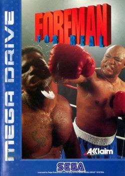 Carátula del juego Foreman for Real (Genesis)